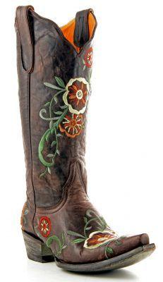 Womens Old Gringo Tyler Boots Vesuvio Chocolate #L585-4