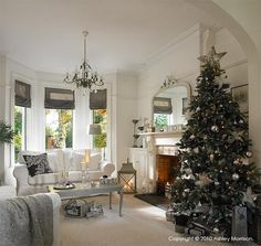 How I decorated our previous homes for Christmas - Day One