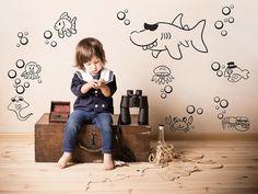 Divertenti adesivi murali per i piccoli cercatori di avventure #adesivimurali #adesivomurale #homedecor #casa #decorazioni #adesivi #bambini #cameretta #camerette #bambino #decorazione #stickersmurali
