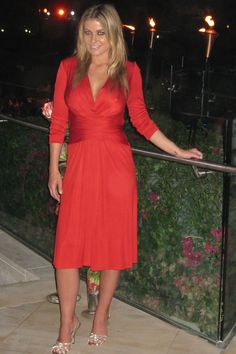 red dress  carmen electra
