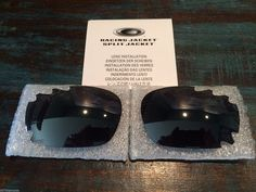 New Oakley Jawbone/Racing Jacket 30th Black Iridium Vented Lens Set