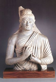 Gandharan-style Buddha from a private collection