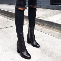 592cd46ecdb BRAZEN Black Leather Tony Bianco Pointed Dress Boot