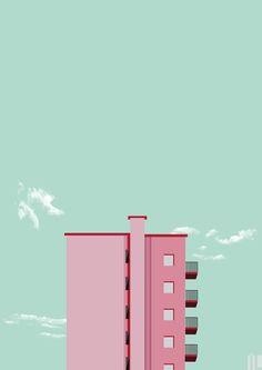 Projeto Urban #minimal #minimalart #minamalurban #urban #illustration #ilustracao #illustrator #digitalart #art #ivanlitenskiartista #ilartegrafica