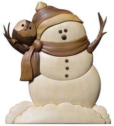 snowman intarsia - Google Search
