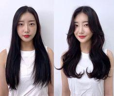 • 3) Hair만으로도 다른사람이~? 헤어스타일 전/후 : 네이버 블로그 Korean Long Hair, Hair Goals, Long Hair Styles, Girls, Toddler Girls, Daughters, Long Hairstyle, Maids, Long Haircuts