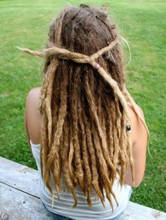 dreads of any sort. Wash your hair.
