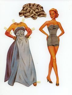 Grace Kelly Paper Doll