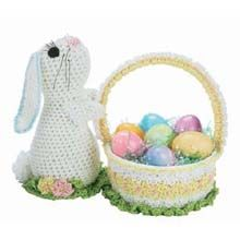 Easter Basket Bunny Crochet Kit