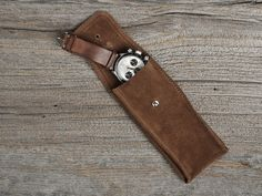 Bulang & Sons Suede Watch Pouch - $61