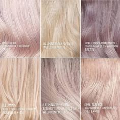 Hair Color Highlights, Hair Color Dark, Hair Color Balayage, Cool Hair Color, Hair Color Guide, Hair Color Formulas, Hair Color Placement, Ice Blonde Hair, At Home Hair Color