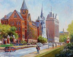 SLU Gate Grand Blvd Saint Louis by Irek Szelag