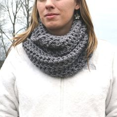 images of crochet cowls | This cowl was an accident...hence the name. I didn't intend to make ...