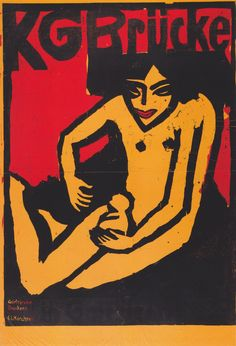 Ernst Ludwig Kirchner, KG Brucke, 1910