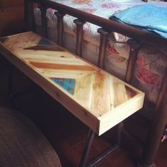 Old Pallet table #pallets, #smalltable