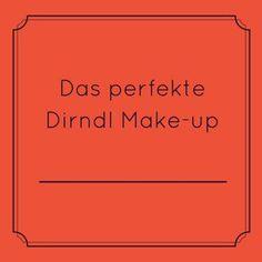 dirndl make-up