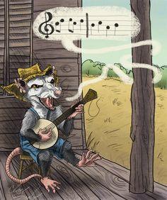 Mountain Banjo Rat :)