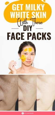 Get milky white skin with these DIY face packs, Health Clear Skin Health Remedies Health Tips Health For women Health Natural Health Tips Skin Tips, Skin Care Tips, Skin Secrets, Lighten Skin, Whiten Skin, Flawless Skin, Face Skin, Face Face, Good Skin