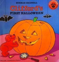 Clifford's First Halloween! Retro Halloween, Halloween Cartoons, First Halloween, Happy Halloween, Halloween Party, Halloween Decorations, Vintage Halloween Cards, Halloween Scene, Halloween Stuff