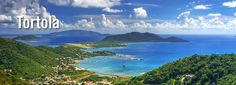 Tortola, in the BVI, my mom was pregnant with Will at the time.  It was SO beautiful!!