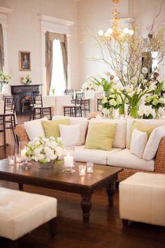 Gathering Floral + Event Design - Hibernian Hall Wedding | Charleston Wedding | The Wedding Row