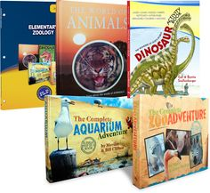 What elementary student doesn't love animals? Elementary Zoology combines the study of both land animals and sea creatures, complete with trips to the zoo and aquarium. Simply Learning, Kids Learning, Fifth Grade, Zoology, Homeschool Curriculum, 5th Grades, Packing, Science, Books