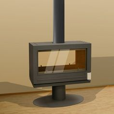 Invicta Nelson Double Sided Wood Burning Stove