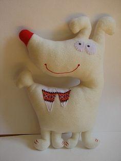 Куклы и игрушки ручной работы. Ярмарка Мастеров - ручная работа Умная собачка. Handmade.