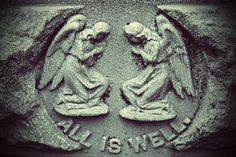 All is Well Cemetery Angels
