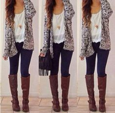 Easy cute throw together outfit for anywhere
