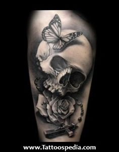Beautiful%20Skull%20Tattoos%201 Beautiful Skull Tattoos