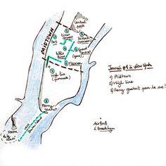 midtown new york plan découverte