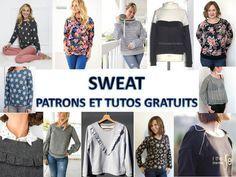 SWEAT : Ou trouver un tutoriel et patron gratuit ? Bettinael.Passion.Couture.Made in france