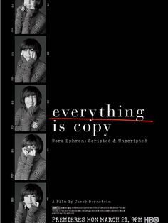 Everything Is Copy - Nora Ephron: Scripted and Unscripted  (2015)