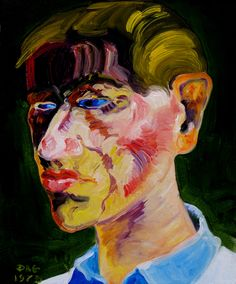 Older brother. Oil on canvas, 41-33, 1984.