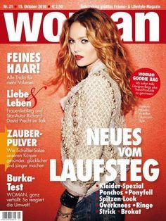 VANESSA PARADIS AUSTRIA WOMAN OCTOBER 2010