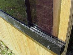 Hinged Windows For The Blinds D Hunting Pinte