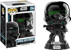 Star Wars: Rogue 1 - Death Trooper Chrome US Exclusive Pop! Vinyl   #DCcomics #Funko #minis #villians #dc #superheroes