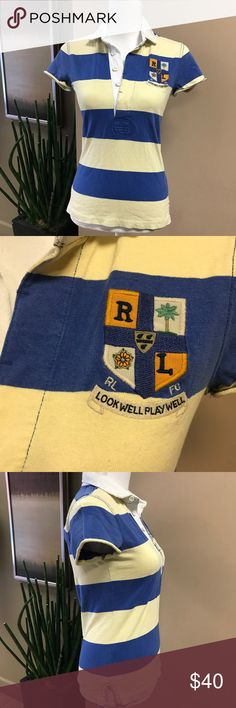 Ralph Lauren Rugby Authentic 2004 Shirt Ralph Lauren Rugby Authentic 2004 Shirt Ralph Lauren Tops Blouses