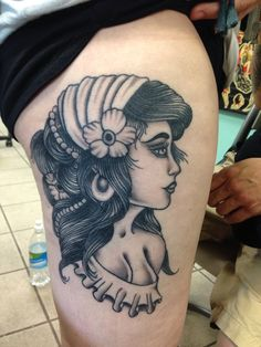 Healed lady by Mike