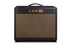 """Line 6 DT25 Guitar Speaker Cabinet (1x12""""): With a vintage look, this guitar speaker cabinet from Line 6 is easily portable and offers a huge sound."""