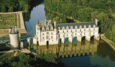 Chenonceau castle, France.
