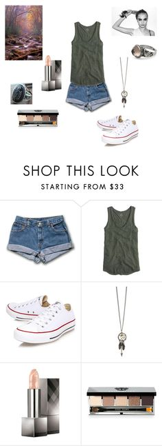 """""""The Failure"""" by imnotdoneyetap ❤ liked on Polyvore featuring J.Crew, Converse, Burberry, Bobbi Brown Cosmetics and NOVICA"""