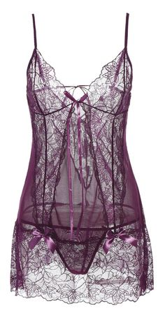See-Through Lace Insert Babydoll Lingerie Outfits, Lingerie Sleepwear, Women Lingerie, Sexy Lingerie, Nightwear, Seductive Lingerie, Babydoll Lingerie, Pretty Lingerie, Vintage Lingerie
