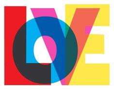 LOVE Art Print - Valentine Love Print Giclee Print Typography Art Typographic Poster Wall Decor - On My Block Typography Letters, Typography Prints, Typography Design, Logo Design, Design Design, Retro Typography, Graphic Art Prints, Lettering Art, Typography Quotes
