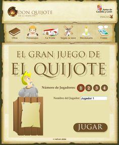 El gran juego de El Quijote obra-literaria Yo profesor