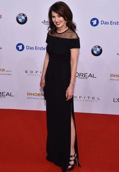 Iris Berben wearing ESCADA Fall/Winter '16 at the German Film Awards in Berlin