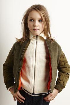 Lookbook Bellerose Kids collection FW'16 / Jacket Luck - Knitwear Umba - T-shirt…