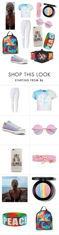 """Ashton Irwin 5sos concert outfit"" by that-fangirl ❤ liked on Polyvore featuring New Look, Converse, Topshop and Neff"