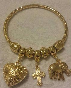 Elephant Bracelet Charm Braclets Bracelets Elephant Bangle Bracelet Personalized Elephant Bracelet Charm Bracelet Braclet Bangle